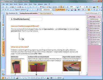 Microsoft Onenote 2007